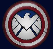 The Captain's S.H.I.E.L.D. by njonestees