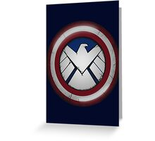 The Captain's S.H.I.E.L.D. Greeting Card