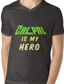 Calpal Is My Hero Mens V-Neck T-Shirt