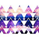 Geometric Abstract Pattern by Jacqui Frank