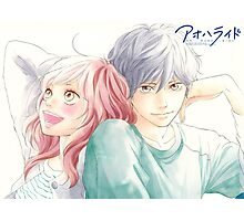 Anime: AO HARU RIDE Photographic Print
