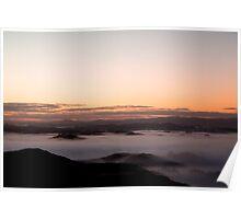 Misty Manawatu Morning 2 Poster