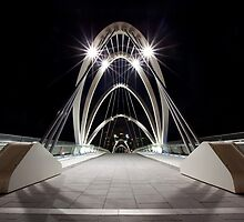 South Wharf Bridge by Travis Easton
