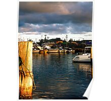 Safe Harbour - Bermagui NSW Poster
