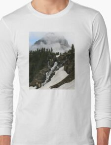 Snow, Clouds and Water Long Sleeve T-Shirt