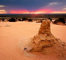 Late Storm - Lake Mungo by Hans Kawitzki