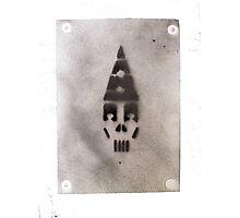 Skull Clown Photographic Print