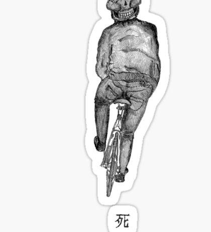 Grim Cyclist Sticker