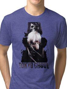 Anime: TOKYO GHOUL - Kaneki & Rize Tri-blend T-Shirt