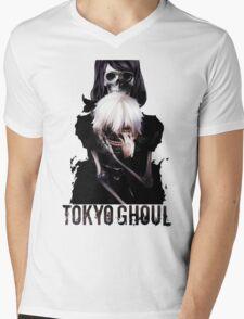 Anime: TOKYO GHOUL - Kaneki & Rize Mens V-Neck T-Shirt