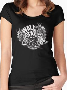 Wall of Death Women's Fitted Scoop T-Shirt