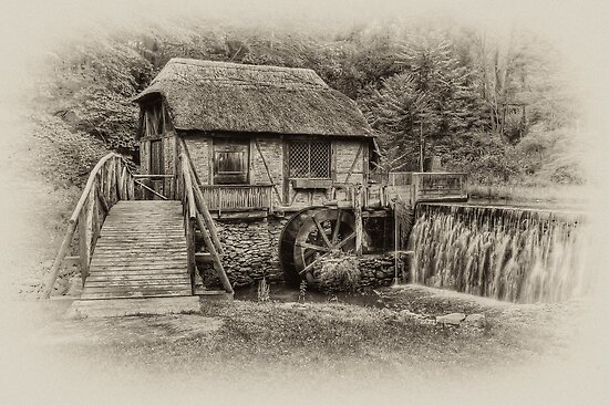 Gomez Mill / Antique  by JHRphotoART