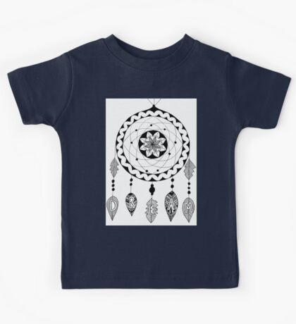Dream in Black and White Kids Tee