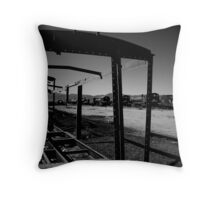 Skeleton Of The Past Throw Pillow