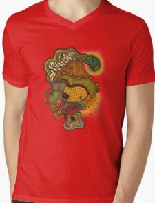 Caravan Mens V-Neck T-Shirt