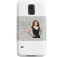 Tina Fey on Beauty Samsung Galaxy Case/Skin