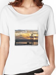 Sunset Great Wheel Women's Relaxed Fit T-Shirt