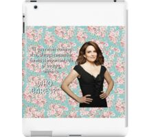 Tina Fey on Beauty iPad Case/Skin