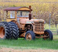 The Old Tractor by Karen Stackpole