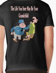 Don't Drive Drunk Mens V-Neck T-Shirt