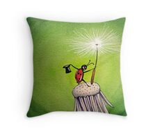 Bug Astair Throw Pillow