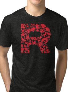 Rocketmon (Lunarscape) Tri-blend T-Shirt