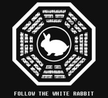 Follow the White Rabbit One Piece - Short Sleeve