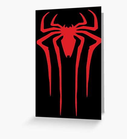 Spider-Man sign Greeting Card