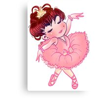 Pretty Pink Ballerina Canvas Print