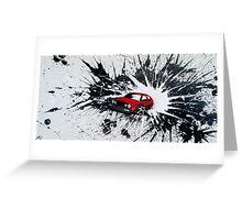 Dub Splat 02 Painting Greeting Card