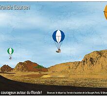 Le Grande Course by Mark W.  Law