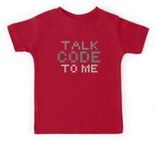 Talk code to me Kids Tee