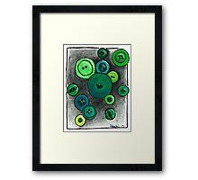 Button Envy Framed Print