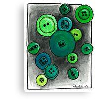 Button Envy Canvas Print