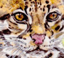 Ocelot: Leopardus pardalis Sticker
