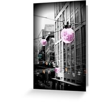 Seattle Urban Lights  Greeting Card