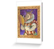 Sir Warthog Greeting Card
