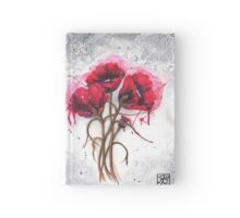 Lisa's Poppies Hardcover Journal