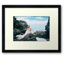 Cove Princess Framed Print