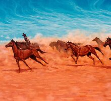 Brumby Run by Cary McAulay