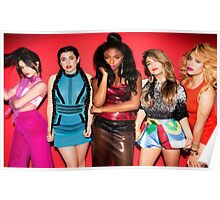 5H Red Poster