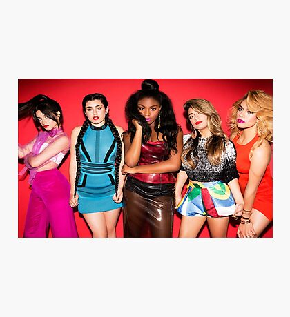 5H Red Photographic Print