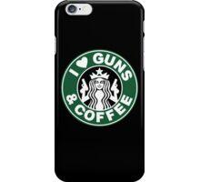 Guns & Coffee iPhone Case/Skin
