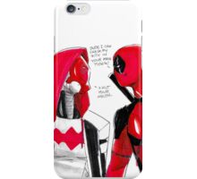 Jason and Wade  iPhone Case/Skin