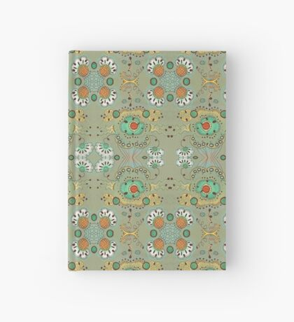 Flower in the Sky Pattern Hardcover Journal