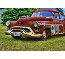 Rusty Olds Photographic Print
