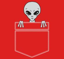 Alien in the pocket by Stock Image Folio