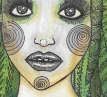 Wild Woman Sticker
