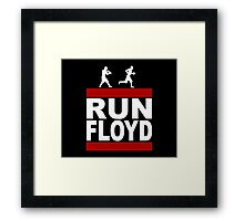 Run Floyd Run DMC Style T Shirt Framed Print