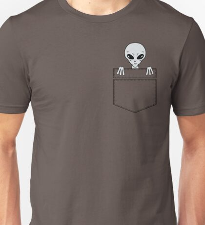 Alien in the pocket Unisex T-Shirt